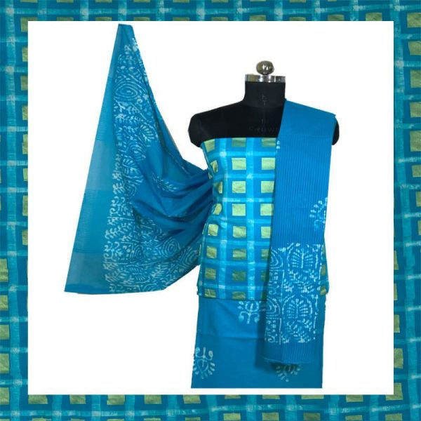 Baitk Print Unstitiched Salwar Suits Material
