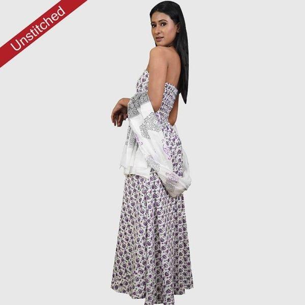 Block Print Salwar Suit