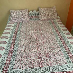 Block White Bedsheet