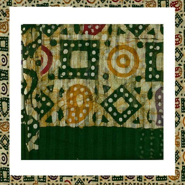 Batik Print Green Color Salwar Suits
