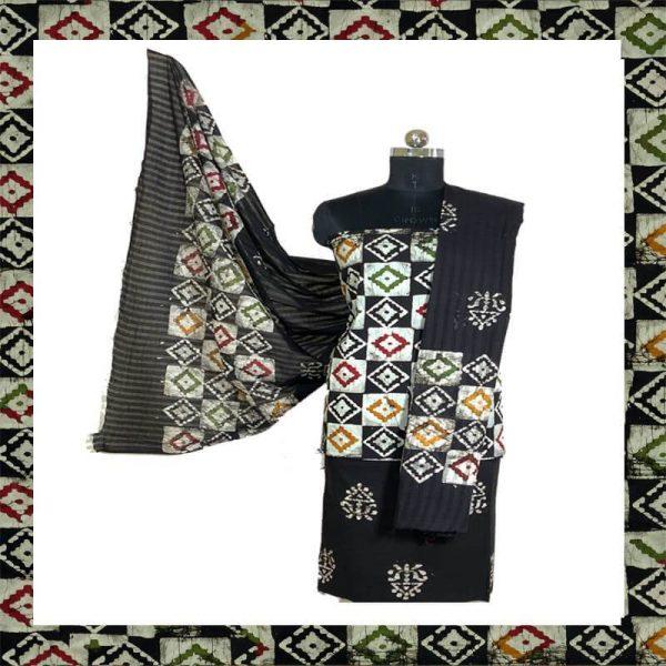 Batik Print Salwar Suit