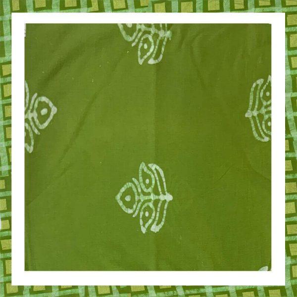 Batik Print Zari Work Suits