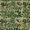 Batik Print Green Unstitched Salwar Kameez (Salwar Suit) Fabric- 100 % Cotton