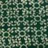 Batik Print Green Salwar Suit Fabric- 100 % Cotton