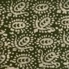 Batik Print Olivine Green Unstitched Salwar Kameez