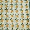 Batik Print yellow-orange Unstitched Salwar Suit