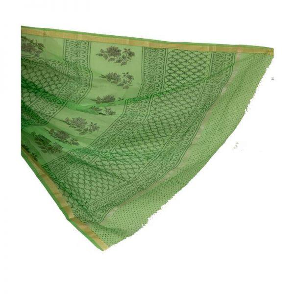 Kota Saree (green color)