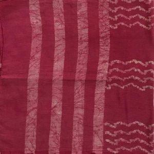 Hand Batik Print Stole