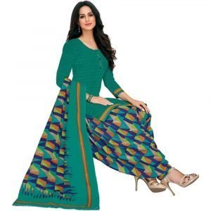 Patiala Multicolored Stitched Salwar Suit