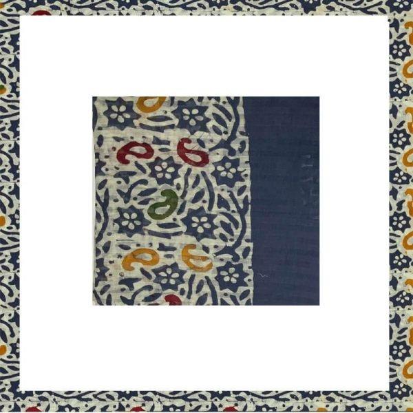 Blue Batik Print Suit