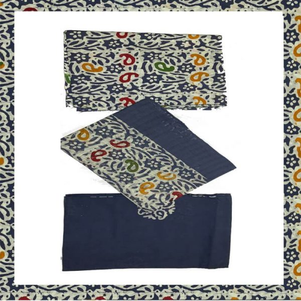 Baitk Print Unstitiched Salwar Suit Material