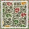 Batik Print Hooker's Green Salwar Suits Zari Work Material