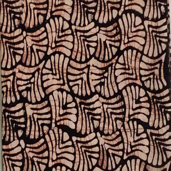 Hand Made Batik Print  Suit Fabric- 100 % Cotton