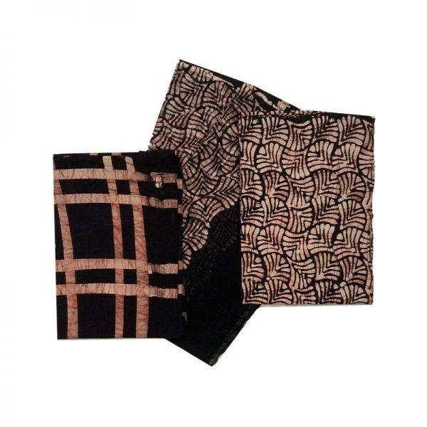 Batik Print Salwar Suit (Salwar Kameez) Fabric- 100 % Cotton