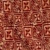 Batik Print brown Salwar Suit kameez