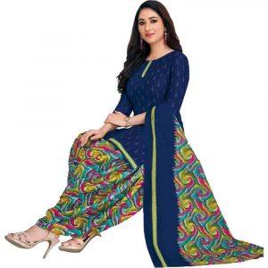 Patiala Multicolor Stitched Salwar Suit