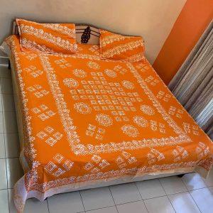 Batik Print Double Bedsheet