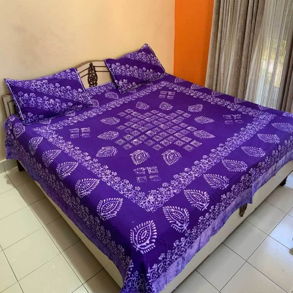Batik Print Bedsheet